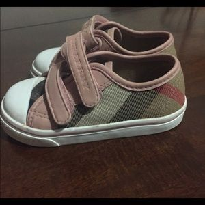 Burberry toddler sneakers size 21 (5)